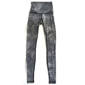 Lululemon Athletica Leggings Gray Space Dye 4